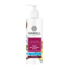Markell, Пенка для укладки волос Everyday, суперсильная фиксация, 200 мл
