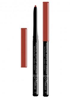 Карандаш для губ водостойкий Красно-коричневый NINELLE