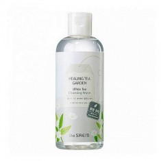 вода очищающая с экстрактом белого чая  the saem healing tea garden white tea cleansing water