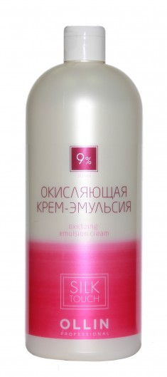 OLLIN PROFESSIONAL Крем-эмульсия окисляющая 9% (30vol) / Oxidizing Emulsion cream SILK TOUCH 1000 мл