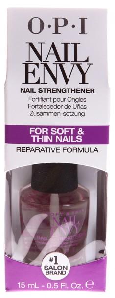OPI Средство для тонких и мягких ногтей / Soft & Thin Nail Envy 15 мл