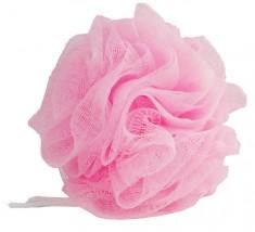 DEWAL BEAUTY Мочалка для тела, розовая 1 шт