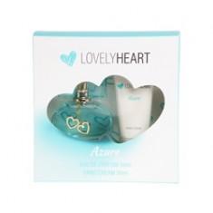 PARFUMS GENTY Подарочный набор Lovely Heart Azur Парфюмерная вода, спрей 50 мл + крем для рук 50 мл
