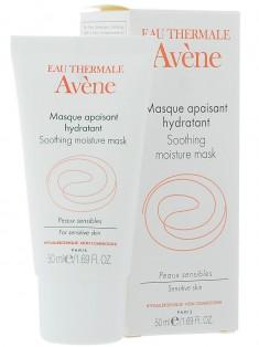Авен/Avene Успокаивающая увлажняющая маска для чувствительной кожи 50 мл