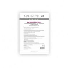 Коллаген 3Д BioComfort ANTI WRINKLE Аппликатор для лица и тела с плацентолью А4 Collagene 3D