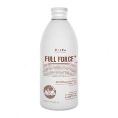 Оллин/Ollin Professional FULL FORCE Интенсивный восстанавливающий шампунь с маслом кокоса 300мл