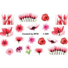 BPW.Style, Слайдер-дизайн «Цветы» №1-689