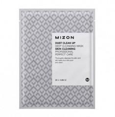 Тканевая маска очищающая MIZON Dust Clean Up Deep Cleansing Mask