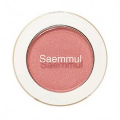Тени для век мерцающие THE SAEM Saemmul Single Shadow (Shimmer) CR04 Splash Coral 2гр