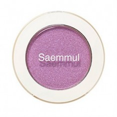 Тени для век мерцающие THE SAEM Saemmul Single Shadow (Shimmer) PP05 Sparkling Lavender 2гр