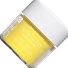 Cnd sculpting powder perfect yellow пудра желтая 22г