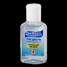 гель санитель антисептический без отдушки с витамином е 50 мл Sanitelle