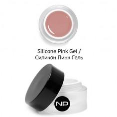 Np silicone pink gel укрепляющий камуфлирующий гель 15мл Nano Professional