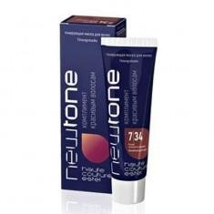 тонирующая маска для волос estel newtone 7/34 русый золотисто-медный 60 мл Estel Professional