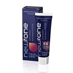 тонирующая маска для волос estel newtone 8/36 светлый русый золотисто-фиолетовый 60 мл Estel Professional