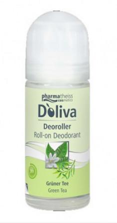 Дезодорант роликовый D`oliva Зеленый чай