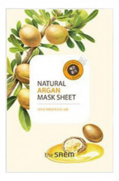 Маска тканевая с экстрактом арганы THE SAEM Natural Argan Mask Sheet 21мл