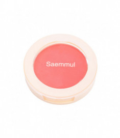 Румяна THE SAEM Saemmul Single Blusher PK01 Bubblegum pink 5гр