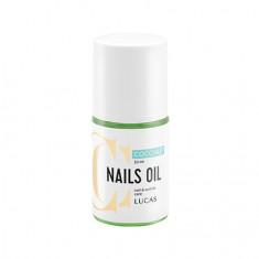 Lucas' Cosmetics, Масло для кутикулы CC Nails, кокос, 30 мл