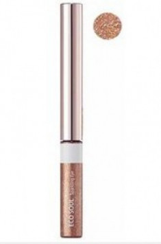 Тени для глаз сияющие THE SAEM Eco Soul Sparkling Eye 01 Sweet Fantasy 2,7г