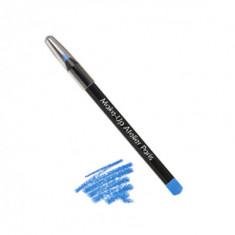 Карандаш для глаз перламутровый Make-Up Atelier Paris C12 жемчужно-синий