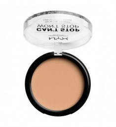 NYX PROFESSIONAL MAKEUP Пудра Can't Stop Won't Stop Powder Foundation - Natural 08