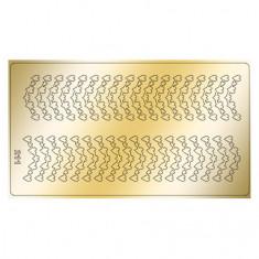 Freedecor, Металлизированные наклейки №211, золото