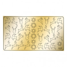 Freedecor, Металлизированные наклейки №197, золото