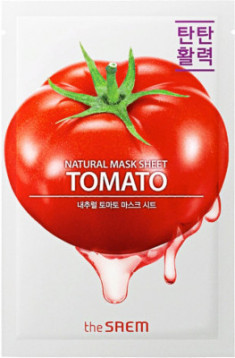 Маска тканевая с экстрактом томата THE SAEM Natural Tomato Mask Sheet 21мл
