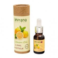 Levrana, Масло для кутикулы «Лимон», 15 мл
