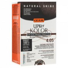 Краска для волос GUAM UPKer KOLOR Каштановый шоколадный 4.05 215мл