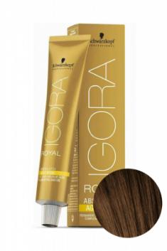 Крем-краска для седых волос Schwarzkopf Professional Igora Royal Absolutes Age Blend 6-07 Темный Русый Натуральный Медный 60 мл