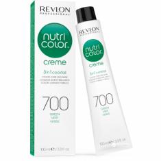 Краска для волос без аммиака Revlon Professional Nutri Color Creme 700 зеленый 100мл