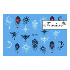 Freedecor, Слайдер-дизайн «Аэрография» №114