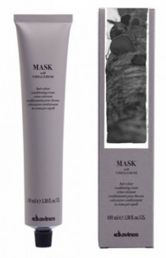 Краска для волос Davines Mask with Vibrachrom 6,44 Интенсивные темный медный100мл