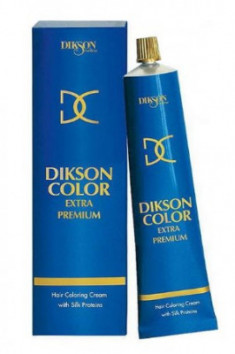 Краска для волос без аммиака Dikson Color Extra Premium 8NVD 8.43 Золотисто-оранжевый 120 мл
