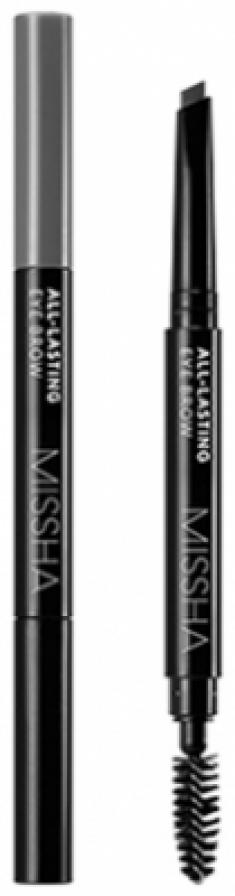 Карандаш для бровей MISSHA All-lasting Eye Brow (Gray Brown)
