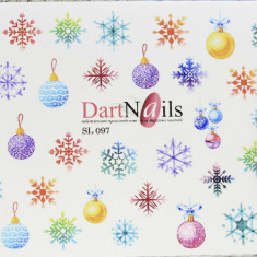 DartNails, Слайдер-дизайн Art-Fashion №97