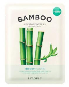 Тканевая маска освежающая с бамбуком It'S SKIN The Fresh Bamboo Mask Sheet 19г