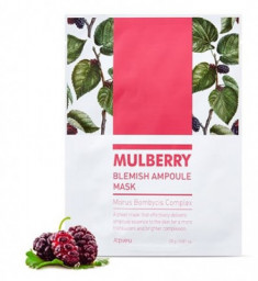 Тканевая маска для устранения покраснений A'PIEU Mulberry Blemish Ampoule Mask 23г