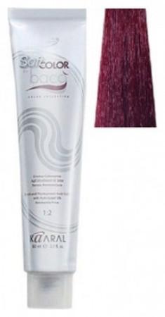 Крем-краситель полуперманентный безаммиачный Kaaral Baco Soft Color 6.60 темный красный блондин 60 мл