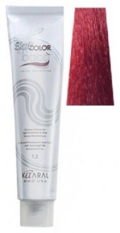 Крем-краситель полуперманентный безаммиачный Kaaral Baco Soft Color 7.64 красный медный блондин 60 мл