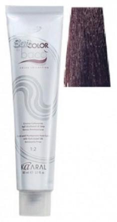 Крем-краситель полуперманентный безаммиачный Kaaral Baco Soft Color 6.38 темный золотисто-коричневый блондин 60 мл