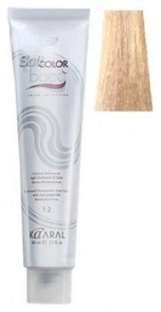 Крем-краситель полуперманентный безаммиачный Kaaral Baco Soft Color 10.0 платиновый блондин 60 мл