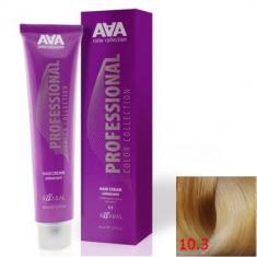 Крем-краска для волос стойкая Kaaral ААА Hair Cream Colorant 10.3 очень очень светдый блондин золотистый 100 мл