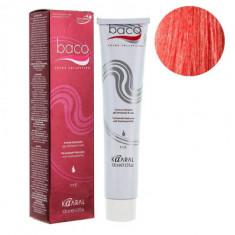 Крем-краска Kaaral Baco Color 7.66 интенсивный красный блондин 100 мл