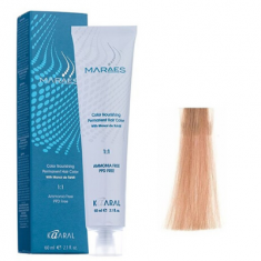 Крем-краситель стойкий без аммиака Kaaral Maraes Nourishing Permanent Hair Color 9.3 очень светлый золотистый блондин 60 мл