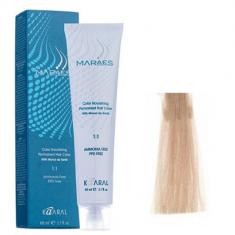 Крем-краситель стойкий без аммиака Kaaral Maraes Nourishing Permanent Hair Color 9.0 очень светлый блондин 60 мл