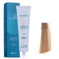 Крем-краситель стойкий без аммиака Kaaral Maraes Nourishing Permanent Hair Color 8.0 светлый блондин 60 мл