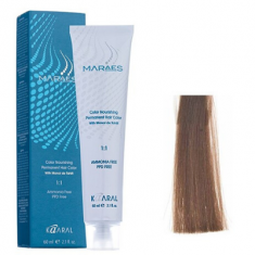 Крем-краситель стойкий без аммиака Kaaral Maraes Nourishing Permanent Hair Color 7.0 блондин 60 мл